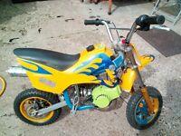 Mini Moto (50CC) £80 Or swap for mountain bike