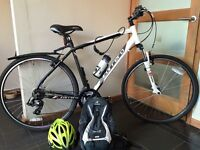 """Carrera Crossfire 1 Men's Bike. 21"""" Frame. Used twice, in perfect condition, comes with extras."""