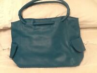 Teal colour Handbag