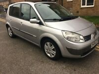 Renault Scenic 1.6 AUTOMATIC REG 2006 PANORAMIC ROOF MOT 22/02/2018 VERY ECONOMIC TO RUN