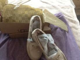 For Sale Ladies Ugg loafers brand new.