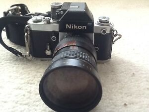 F2  NIKON  CAMERA ( hand assembled 1964)  NEW PRICE! $300