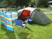 Vango all season 4 man tent + extras