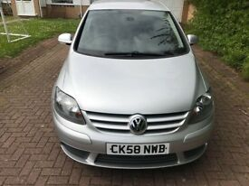 Volkswagen Golf Plus 1.9 TDI PD SE DSG 5dr 2008 (58 reg), Hatchback