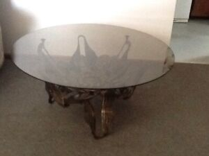 A Vintage wrought iron based table Mount Pleasant Ballarat City Preview