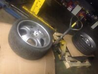 "22"" ANTERA DEEP DISH ALLOYS + TYRES IN VERY GOOD CONDITION FOR RANGE ROVER/ LAND ROVER, BMW X5, VWT5"