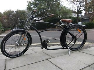 For sale bike with leather seat