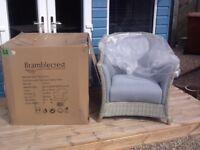 X2 Bramblecrest Garden Sofa Chairs ,Season-Proof