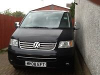 Vw transporter t5 shuttle 2008