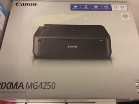 BRAND NEW Canon PIXMA MG4250 Wi-Fi All-In-One Colour Printer BOXED !!!