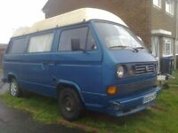 vw transporter moterhome left hand drive