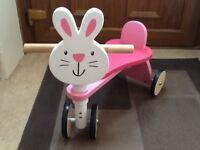 Wooden Bunny Trike
