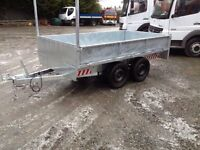 NEW 9x5 dropside trailer (not dale kane ifor williams mcm nugent grass lawnmowers scaffolding)