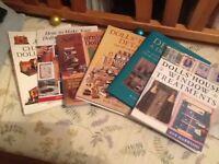 Selection of dolls house hobby books