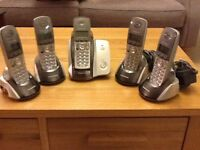 Panasonic Cordless set of five phones.