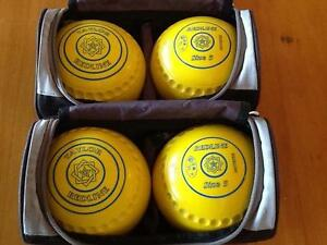 LAWN BOWLS -  SIZE 5. -  TAYLOR REDLINE Woodville Charles Sturt Area Preview