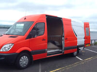 "Man & Van for Hire .. Contact ""The Transporter"".. 7 Days a Week .."
