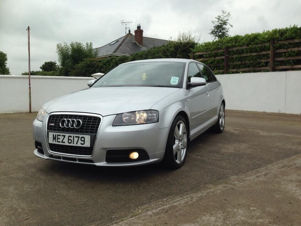 2007 audi a3 s line tdi 5 door silver diesel in newry county down gumtree. Black Bedroom Furniture Sets. Home Design Ideas