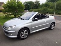 Peugeot 206 CC.. 32000 miles, very good condition, for SALE