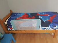 Shortie single bed frame