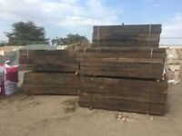 WHITE SKIP HIRE - GRADE A RAILWAY SLEEPERS