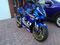 One off bike built by race specialist with MotoGP livery by Dream Machines