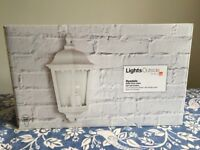 Outside Wall lantern lights