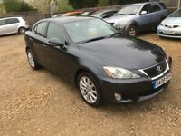 2009 LEXUS IS 220D DIESEL 6 SPEED 77,000 MILES MOT APRIL 2019