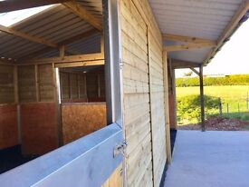 Ready Made Stable/Field Shelter Panels to build your own Stable/Shelter.