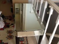 Laura Ashley mirrored coffee table