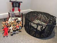 WWE wrestling toys