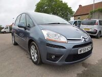 2008/58 Citroen C4 Picasso 5 VTR+ 1.6 hdi, grey, only 26k with full Citroen service history, vgc