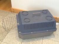 Pet transport carrier/basket-62cm length x42cm width x 36 cm height