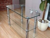 For Sale Glass TV stand