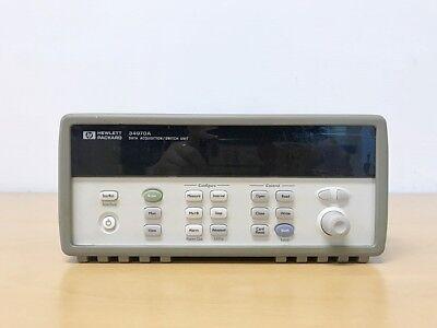 Hp 34970a Data Acquisition Switch Unit