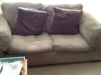 Sofa 4 seater and 3 steater sofa bed. Good condition