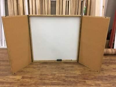 Boardroom Whiteboard Cabinet Dry Erase Euc