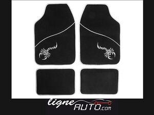 Tapis De Sol Scorpion Gris Noir Auto Voiture Tuning Protection Voiture Ebay