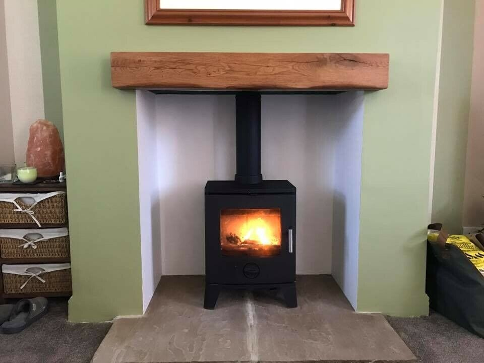 Oak Beam Fireplace Beams Stove Floating Mantel Surrounds Timber Mantle Glulam In Dungannon County Tyrone Gumtree