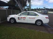 Newcastle Unrestricted  Taxi Plate with 2010 Toyota Camry Car Charlestown Lake Macquarie Area Preview