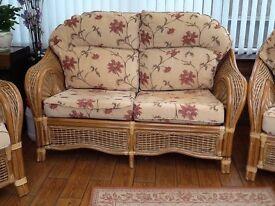 3 piece cane furniture