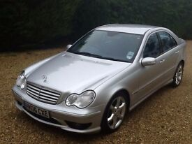 2006 MERCEDES C 320 CDI AUTO SILVER - LEATHER - SAT NAV - 1 OWNER CAR!