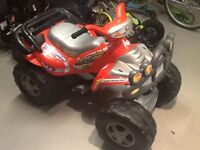 Injusa Cyclops Mega Quad Bike Battery Operated Ride-On. - As New