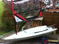 Lightweight Cartop Sailing Dinghy.