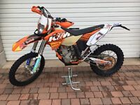 FOR SALE 2010 KTM EXC-F 250 - £2600