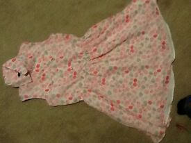 Lined summer dress age 8-10