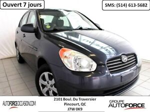 2009 Hyundai Accent L AUT 4CYL BELLE CONDITION