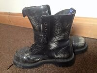 NPS Spider Steel Toe Cap Boot Size 7