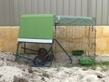 """Chicken Coop - """"Eglu Go UP"""" 2m with Run, Wheels + 2 chickens Leeming Melville Area Preview"""