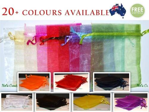 Organza Bag Sheer Bags Jewelry Wedding Candy Packaging Beads Gift 100 /50 / 25